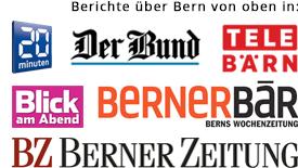 Bern von oben - Medienberichte
