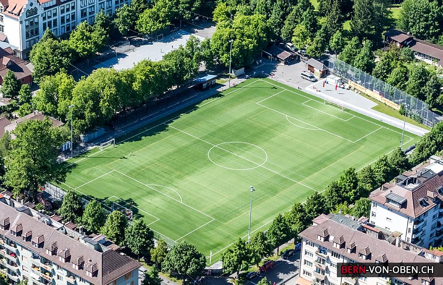 Spitalacker Breitenrain, Bern, Luftaufnahme