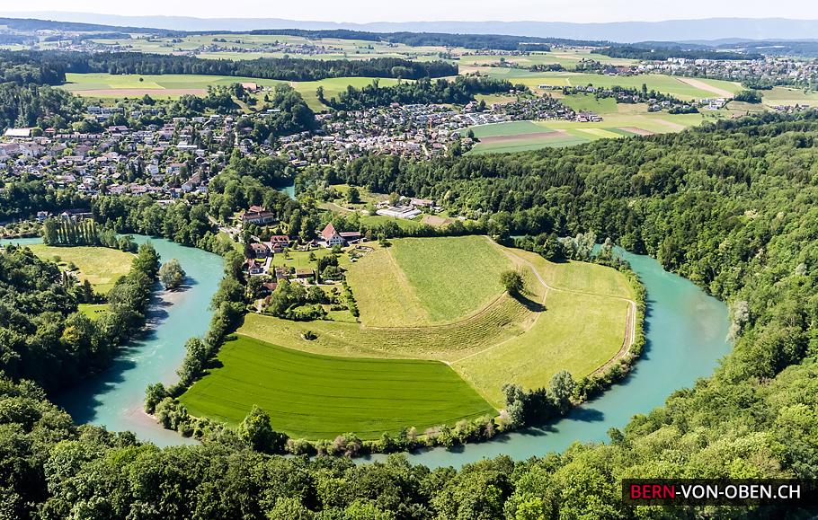 Zehndermätteli, Bern, Luftaufnahme