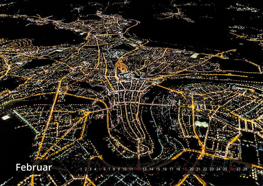 Bern Kalender 2017 von oben, Luftaufnahme