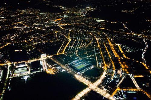Bern bei Nacht, Wankdorfstadion