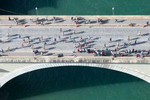 Nydeggbrücke, GP Bern, Luftaufnahme